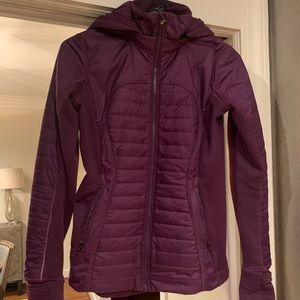 Lululemon Another Mile jacket purple primaloft